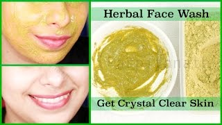 Herbal Face Wash Get Rid Acne Pimples