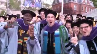 Into the Blue: Columbia University 2016 Graduation Ceremony