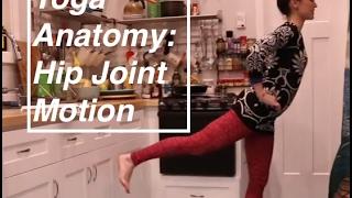 """Yoga ANATOMY Basics 8"": Hip Joint- LauraGYoga"
