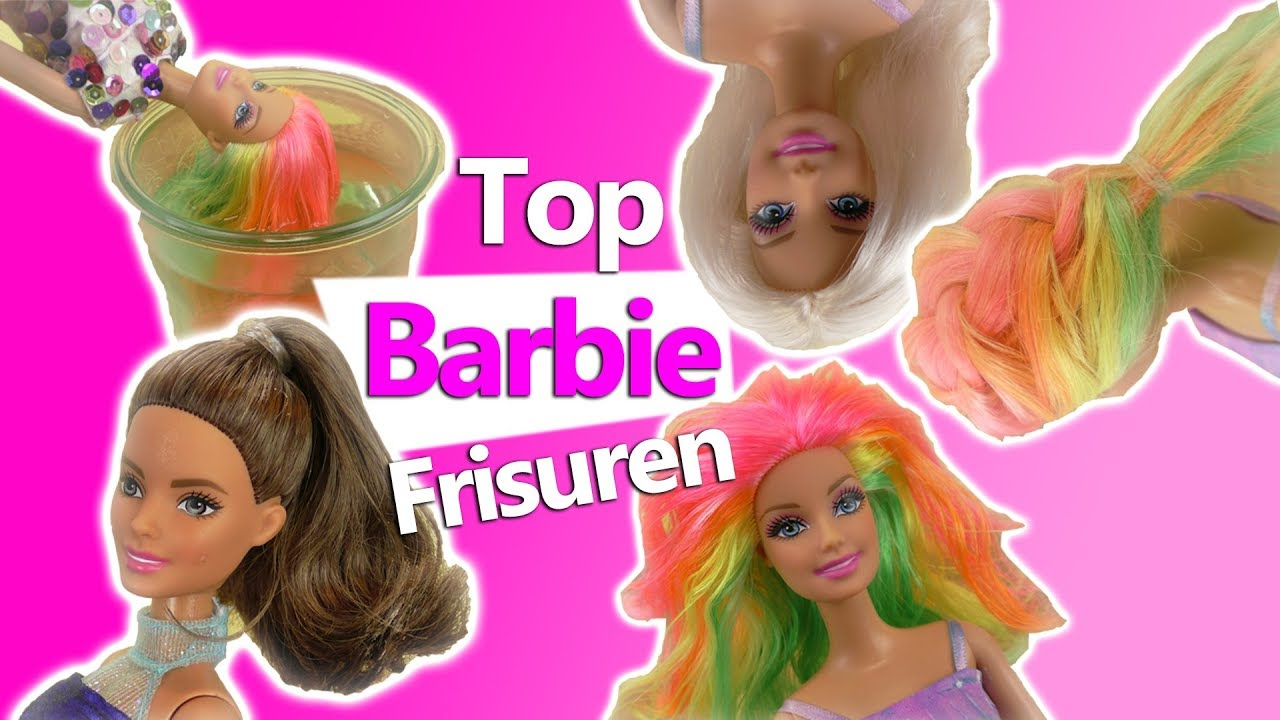 Top Barbie Frisuren DIY Puppen Frisuren Selber Machen