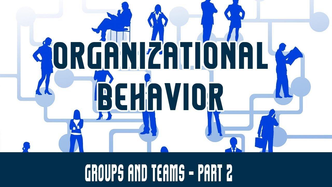 types of groups in organizational behaviour