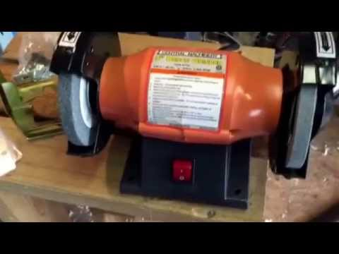 5 Quot Bench Grinder By Central Machinery From Harbor Freight