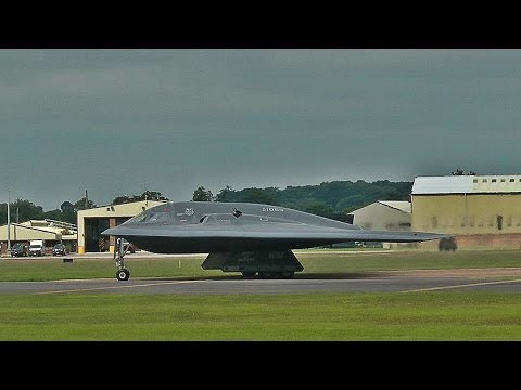 B-2s take off from RAF Fairford - 15/06/14