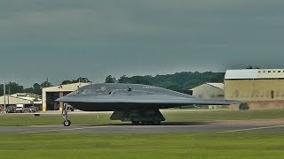 B-2s Take Off From RAF Fairford - 15th June 2014