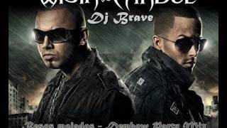 Wisin & Yandel - Besos mojados Dembow Party Mix (Dj Brave).wmv