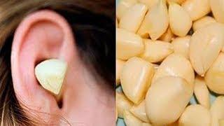 Schau, warum eine Knoblauchzehe im Ohr Wunder bewirkt!