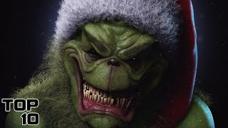 Top 10 Scary The Grinch Theories