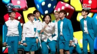160519 Mnet M! Countdown SEVENTEEN   Pretty U 720p (Ugly Ver)
