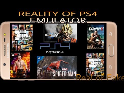 Reality Of Ps4 Emulator | Ps4 Games Possible To Play Ps4 Android Emulator | Real/Fake