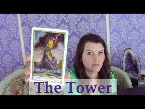 Repeat 16 The Tower Tarot Card Meaning Upright & Reversed