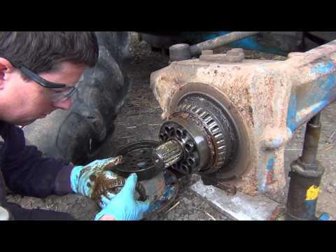 Ford 6610 Hub repair 2014