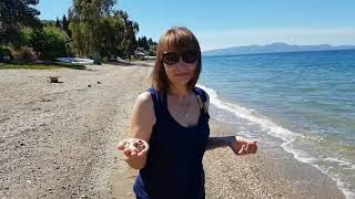 Пляжный отдых в Афисос. Пляжи в Греции.Пелион. Греция.