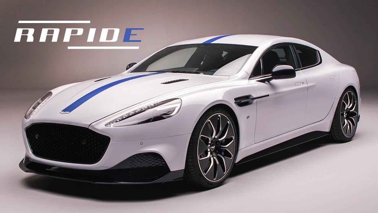 Aston Martin Rapide E  Goodbye V12  Hello Ev