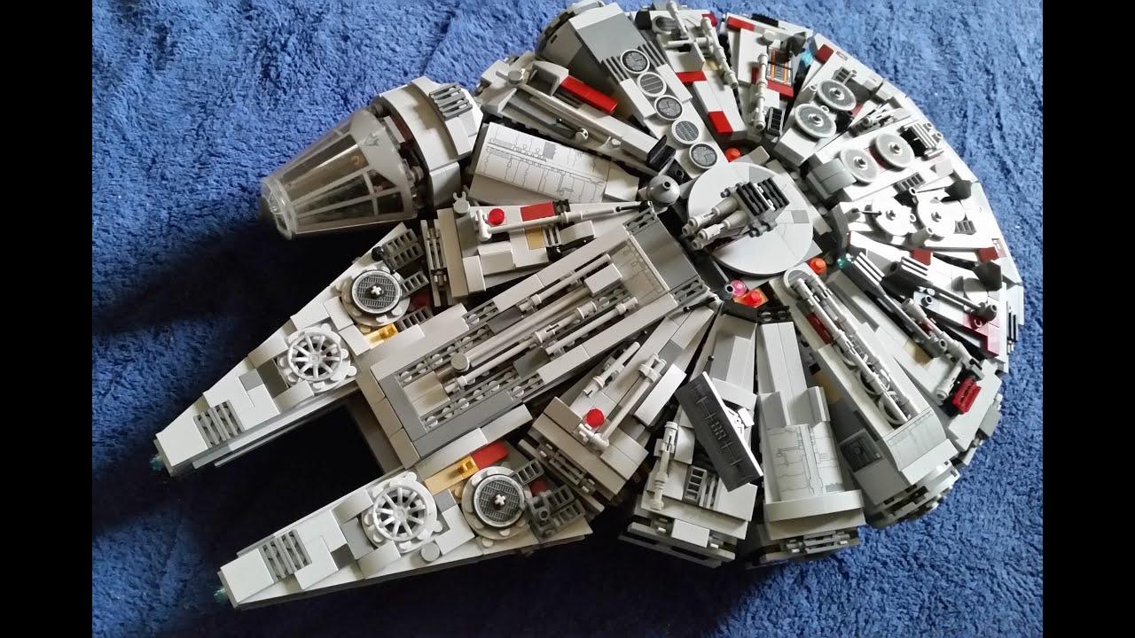 Custom Lego Millenium Falcon - YouTube