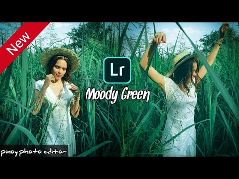How to Edit MOODY GREEN- Lightroom Mobile Tutorial