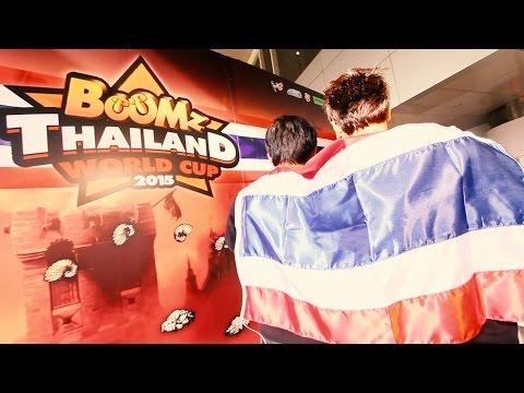 ร่วมเชียร์ BooMzThailand คว้าชัย BooMz World Championship 2015