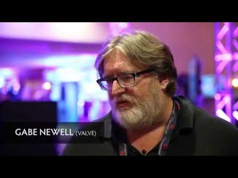 "Gabe Newell interview: ""Russian community is extraordinary"" @ The International 2014"