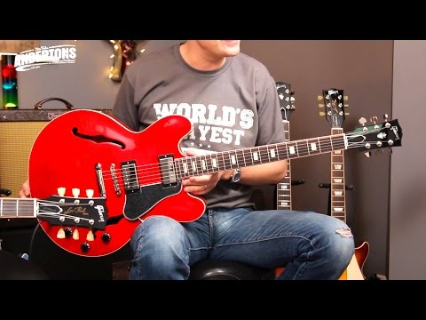 Gibson ES-335 vs ES-339 vs ES Les Paul - a 2016 Memphis Shoot Out!