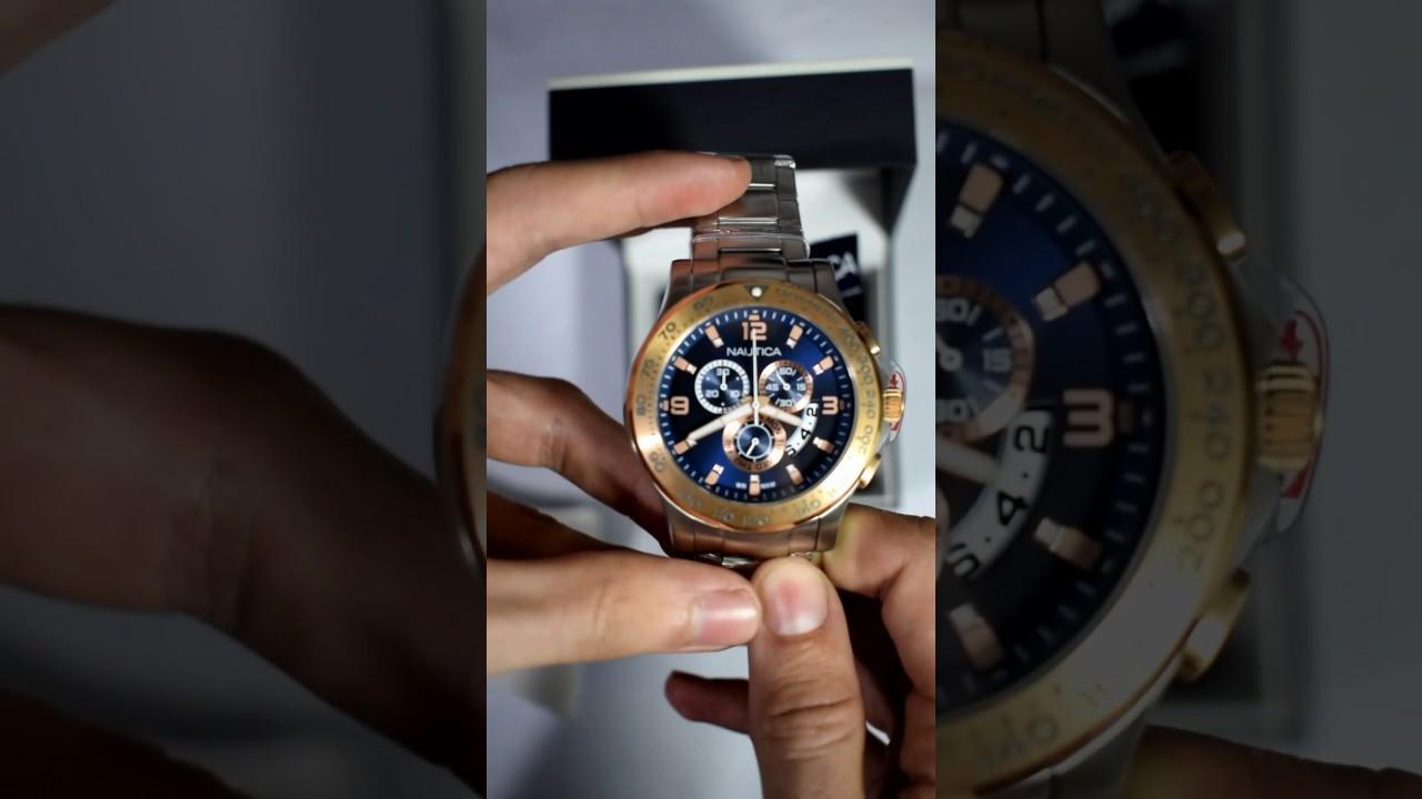 8e5826c5dadc Reloj Nautica N22503G para hombre - Relojes W - YouTube