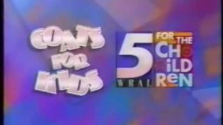wral tv 5 coats for kids 1993 raleigh north carolina