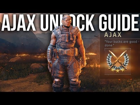 How to Unlock Ajax in Blackout [Character Guide]