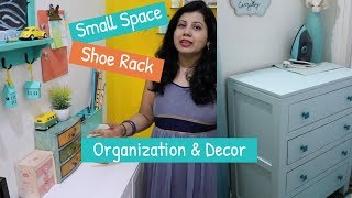 Decorating Ideas For Small Spaces | Space Saving Shoe Rack Organization | Passage Home Decor Ideas