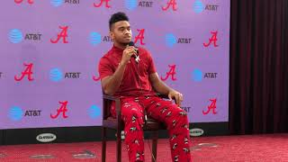 Tua Tagovailoa still undecided on whether he will come back to Alabama or go pro