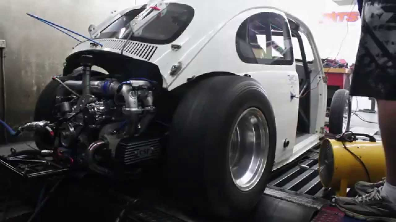 Troy 39 s vw drag beetle first dyno session youtube for Volkswagen cannes garage