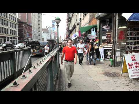 Pouring on the Pounds - Man Walking Off Soda - NYC Health Anti Sugar Drinks