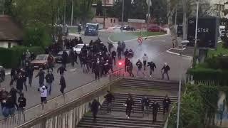 Ultras de Étoile rouge vs  Ultras de Partizan