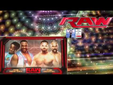Wwe Raw 10 April 2017 Full Show Hd Wwe Monday Night Raw 10 April