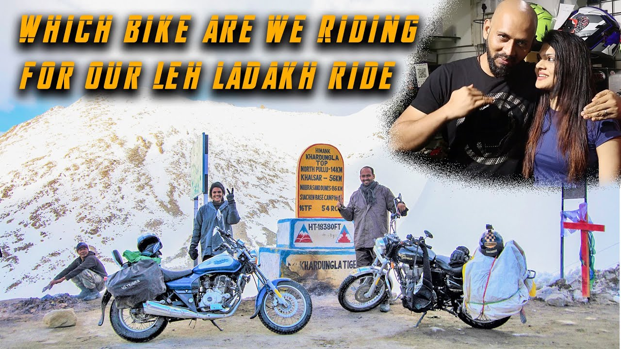 We are going to Ladakh...History is getting repeated!