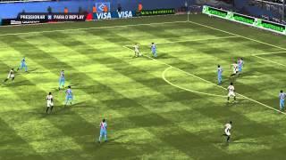 Arsenal sarandì x Atletico MG (Gameplay Ultimate Patch Fifa 13 )