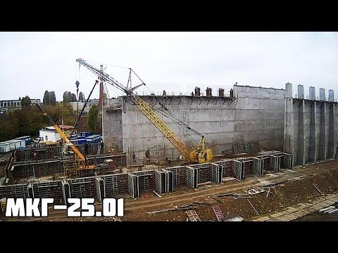 Гусеничный кран МКГ-25.01 с БСО