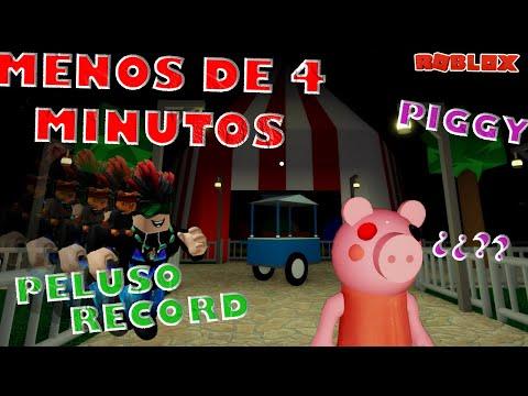 Escapando de Piggy en TIEMPO RECORD 🏃♂️ JUGANDO Carnival Roblox | Peluso Gamer