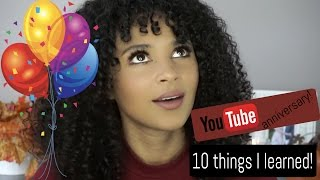 ONE YEAR YOUTUBE ANNIVERSARY! | What I learned + Tips For Starting a Youtube Channel | lovekenziie