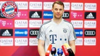 Der Pressetalk mit Manuel Neuer aus Doha