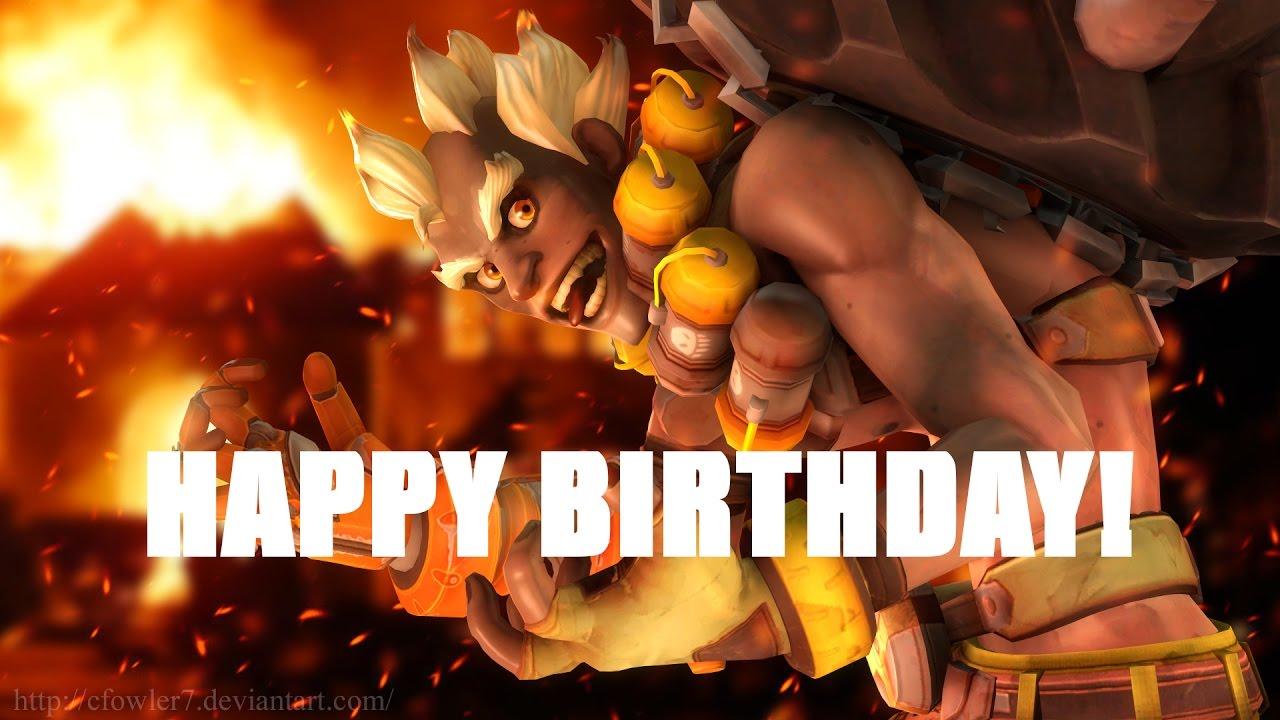 junkrat happy birthday Overwatch: Happy Birthday!   YouTube junkrat happy birthday
