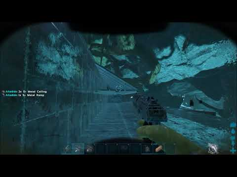 Ark Aberration Base on Go PvP french server cleaning some random structures
