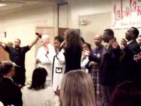 Prophetic Worship  Diane Palmer @ Jabula 2005!!!