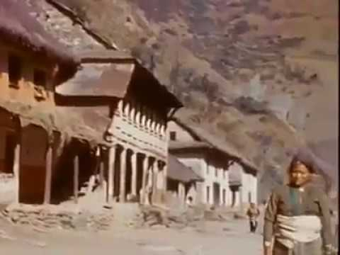 Nepali Old Video (People Carrying Car In Nepal )