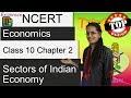 NCERT Class 10 Economics Chapter 2: Sectors of Indian Economy (Examrace - Dr. Manishika)
