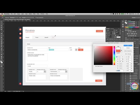 Dashboard UI Design Process: From Sketch to GUI