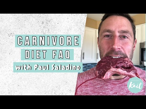 NOSE TO TAIL CARNIVORE // With Paul Saladino MD