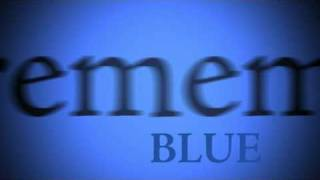 Blue by Ken Nordine Kinetic Type