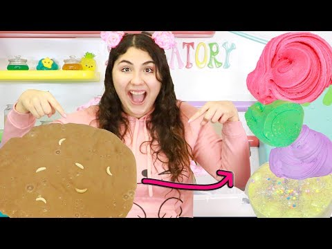 SLIME MONSTER MAKEOVER INTO 7 MOST BEAUTIFUL SLIMES Slimeatory #525