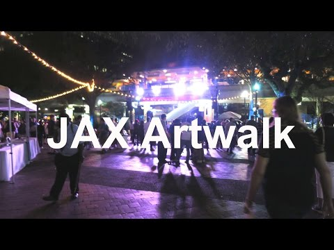 JACKSONVILLE ARTWALK | NOVEMBER | VLOG