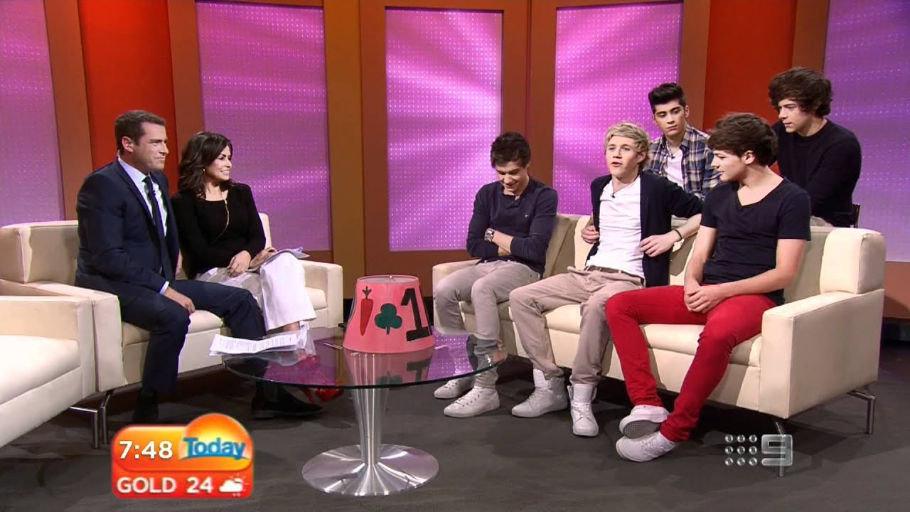 One Direction: Today Show Australia Full Interview (HD ...