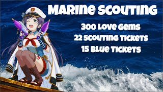 Love Live! Scouting - Marine Set [300 gems, 22 Scouting Tickets, 15 Blue Tickets]