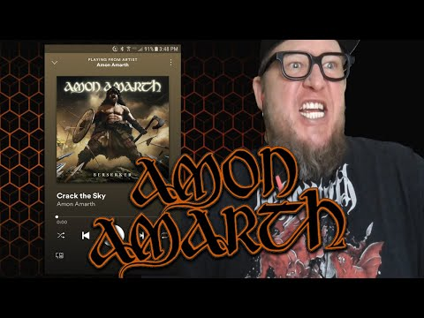 "AMON AMARTH  ""Crack The Sky""  (First Listen)"